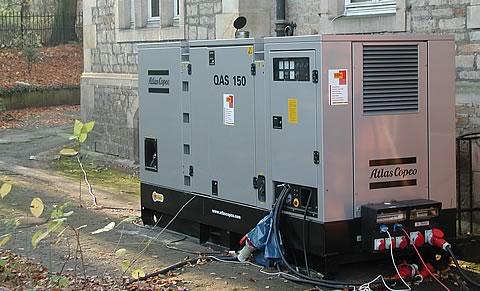 Mobile Stromversorgung Burocontainer Mieten Und